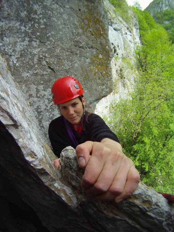 alpinism in Cheile Cernei
